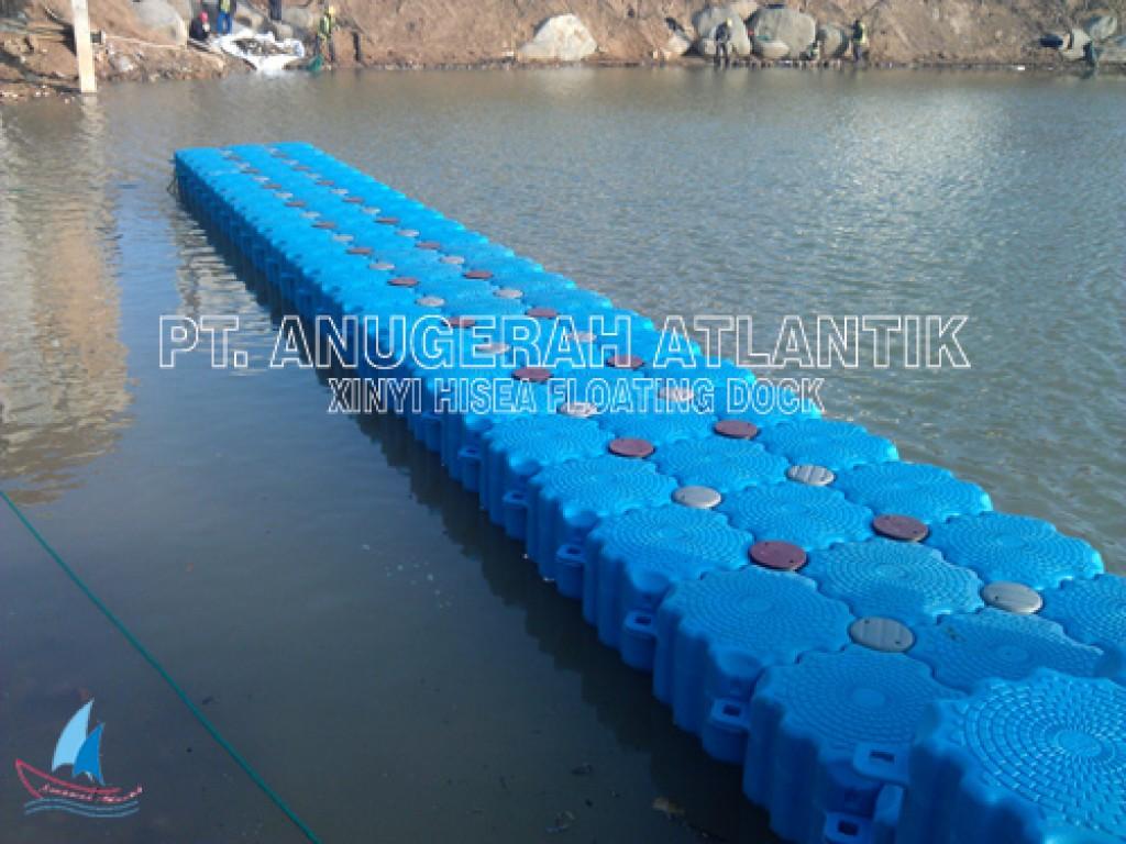 Jembatan Apung Kubus Apung HDPE