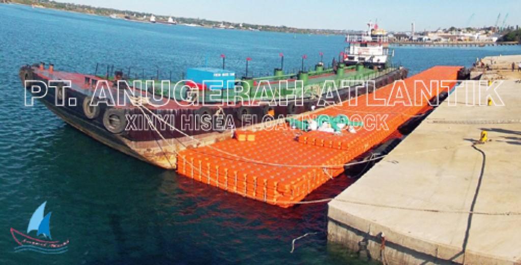 Jetski Dock Apung Kubus Apung HDPE