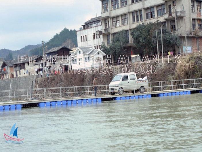 Jembatan Apung HDPE 02